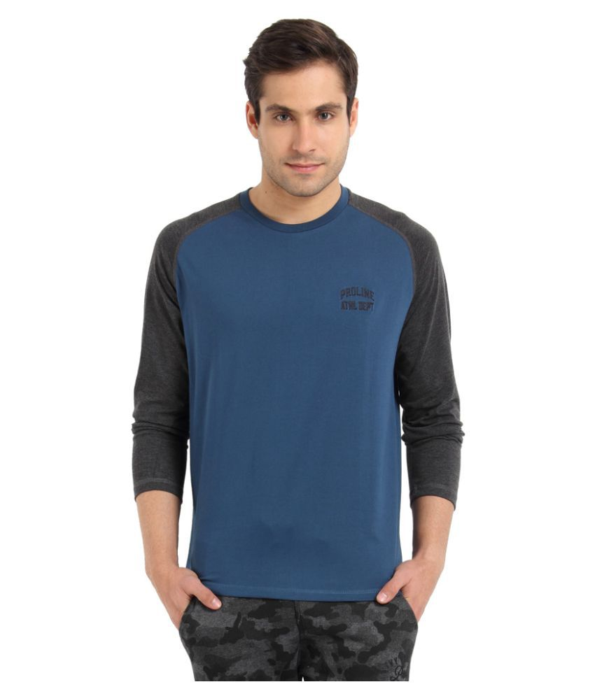 Proline Blue Round T-Shirt