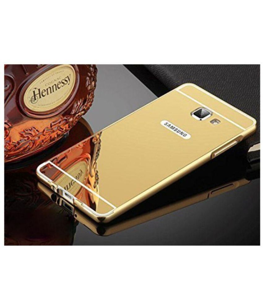 on sale 79150 20682 Samsung Galaxy J7 Prime Cover by Wow Imagine - Golden