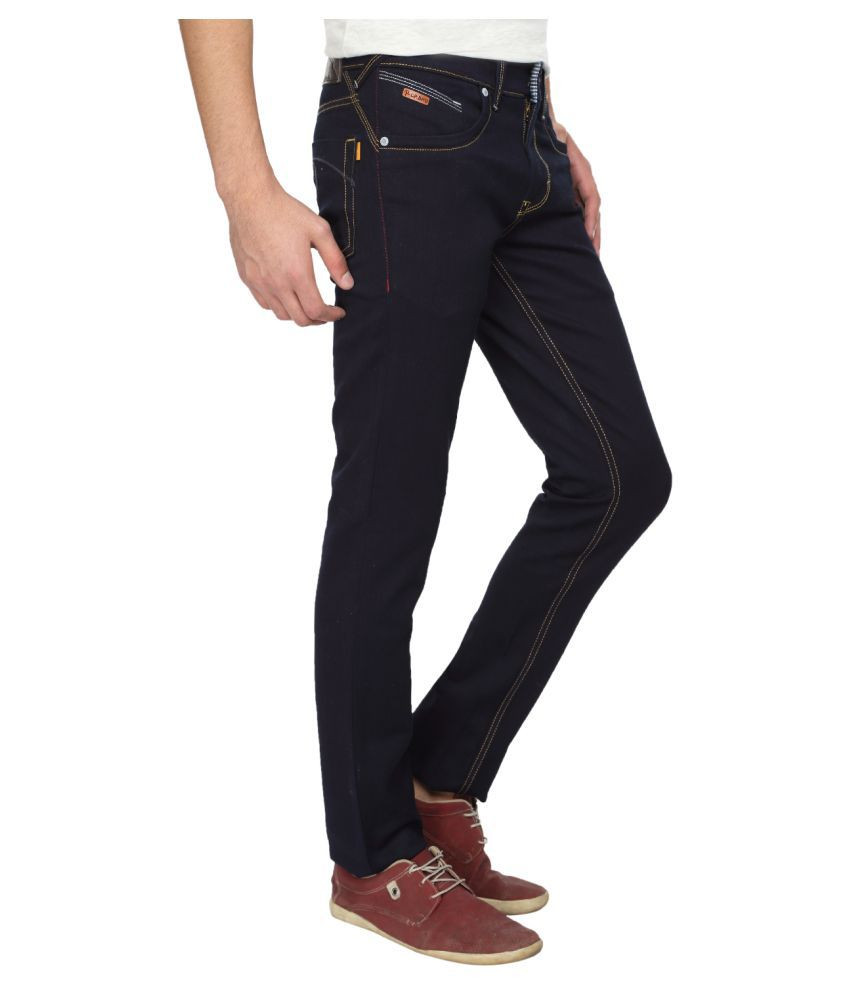 e66d4fe34 CP BRO Dark Blue Slim Jeans - Buy CP BRO Dark Blue Slim Jeans Online ...