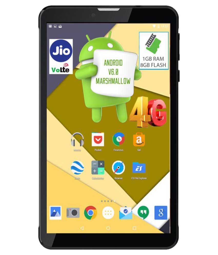 I Kall N4-8GB VoLTE Black ( 4G + Wifi , Voice calling ) Snapdeal Rs. 4490.00