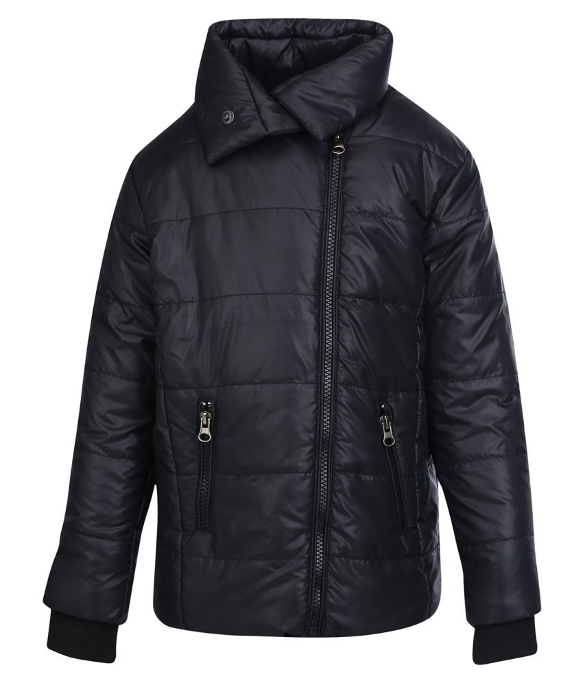 Life by Shoppers Stop Black Cotton Blend Jacket