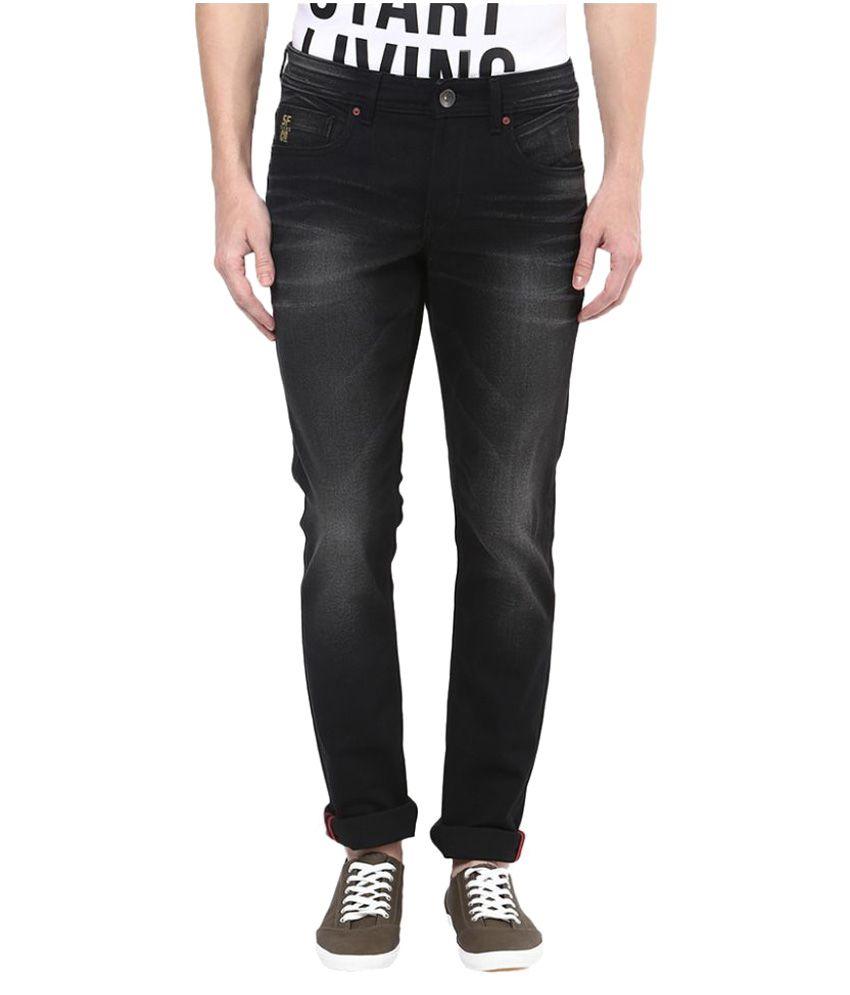 Sf Jeans by Pantaloons Black Skinny Jeans