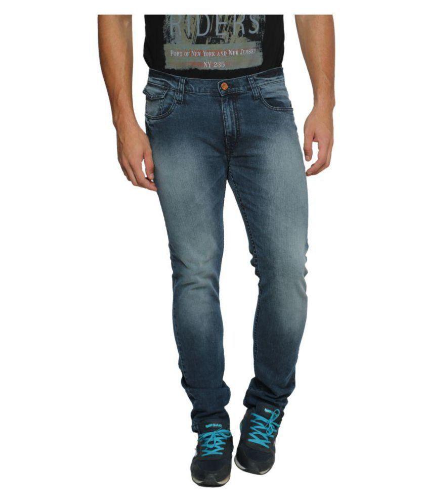 Ferrous Jeans Blue Regular Fit Jeans