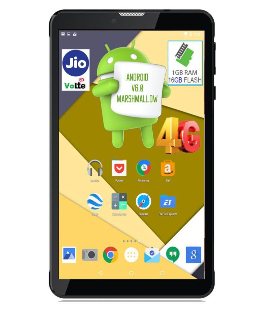I Kall N4-16GB VoLTE Black ( 4G + Wifi , Voice calling ) Snapdeal Rs. 4790.00