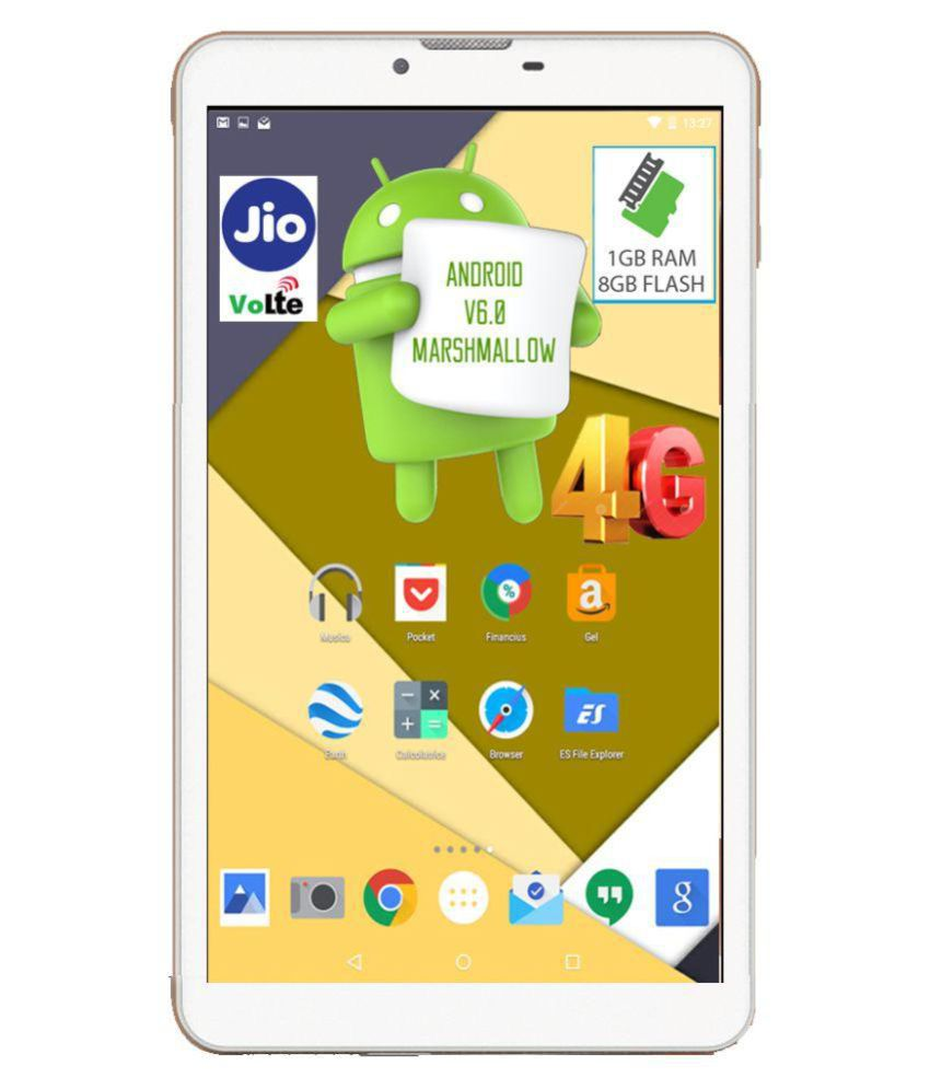 I Kall N4 - 8GB VoLTE White ( 4G + Wifi , Voice calling ) Snapdeal Rs. 4490.00