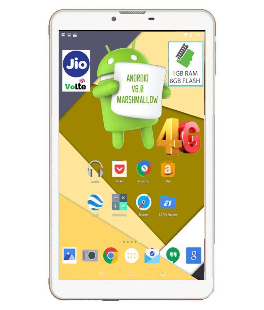 I Kall N4   8  GB VoLTE White   4G + Wifi , Voice calling