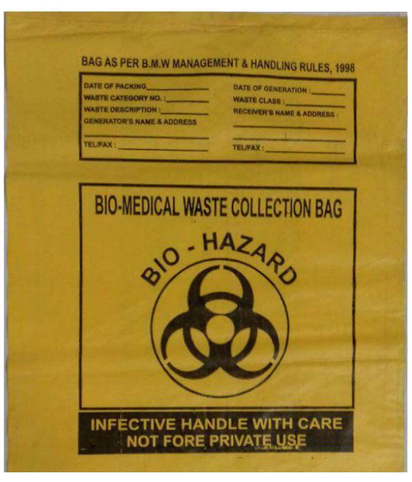 Mr Bin Yellow Plastic Garbage Bag: Buy Mr Bin Yellow Plastic