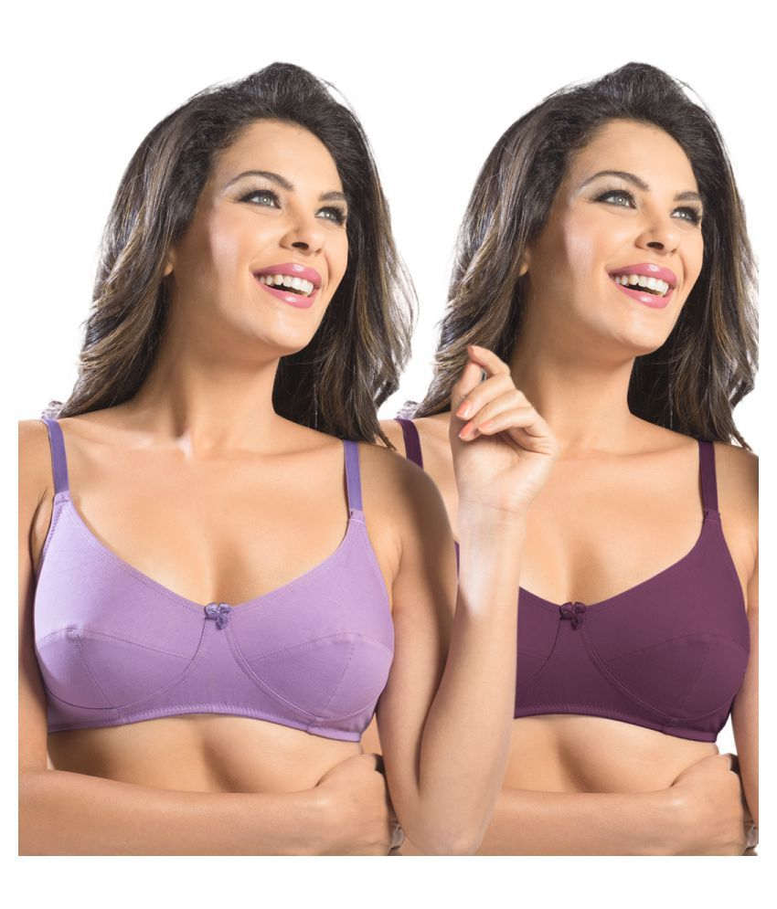 Sonari Poly Cotton Seamless Bra