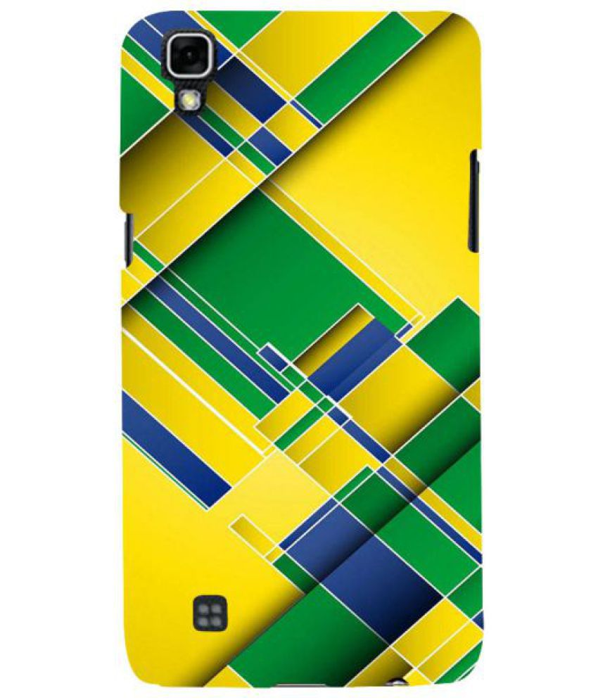 LG X Power 3D Back Covers By Fuson