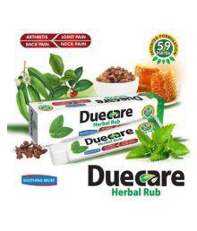 Duecare Herbals duecare Herbal Rub Gel 120 Gm