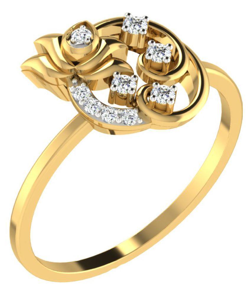 Gold24 18k Yellow Gold Ring