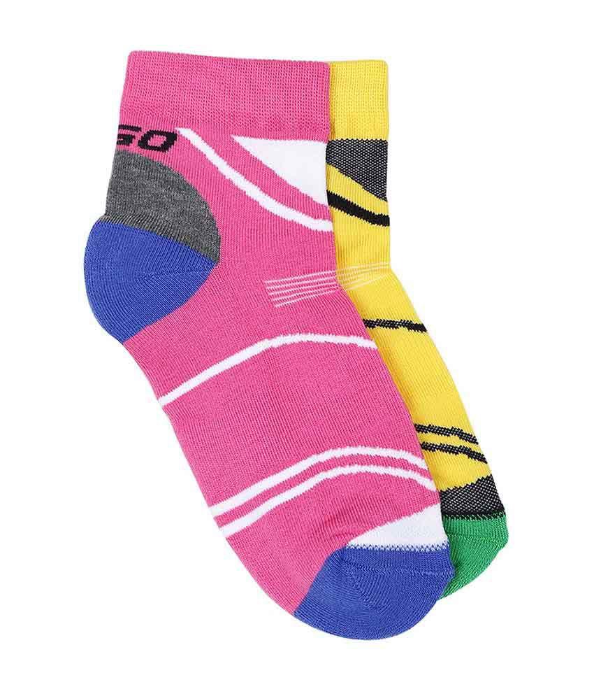 2GO Multi Ankle Length Socks