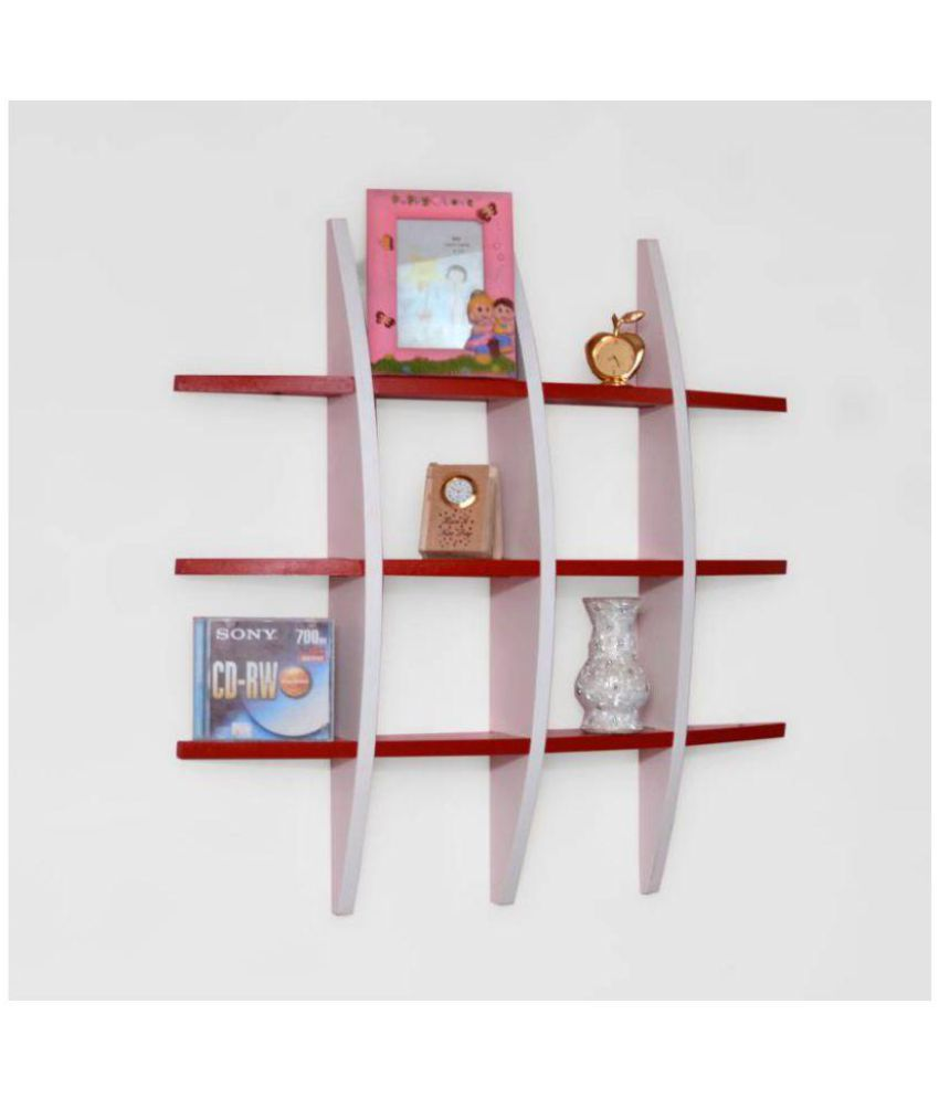 Onlineshoppee Floating Shelf/ Wall Shelf / Storage Shelf/ Decoration Shelf Multicolour Single