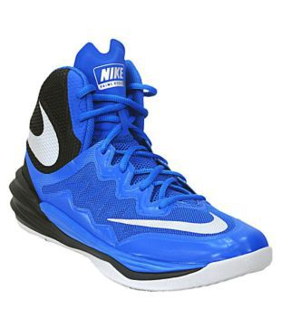 official photos 55a70 cf8f8 Nike Prime Hype DF 2 Blue Basketball Shoes available at SnapDeal for Rs.5864
