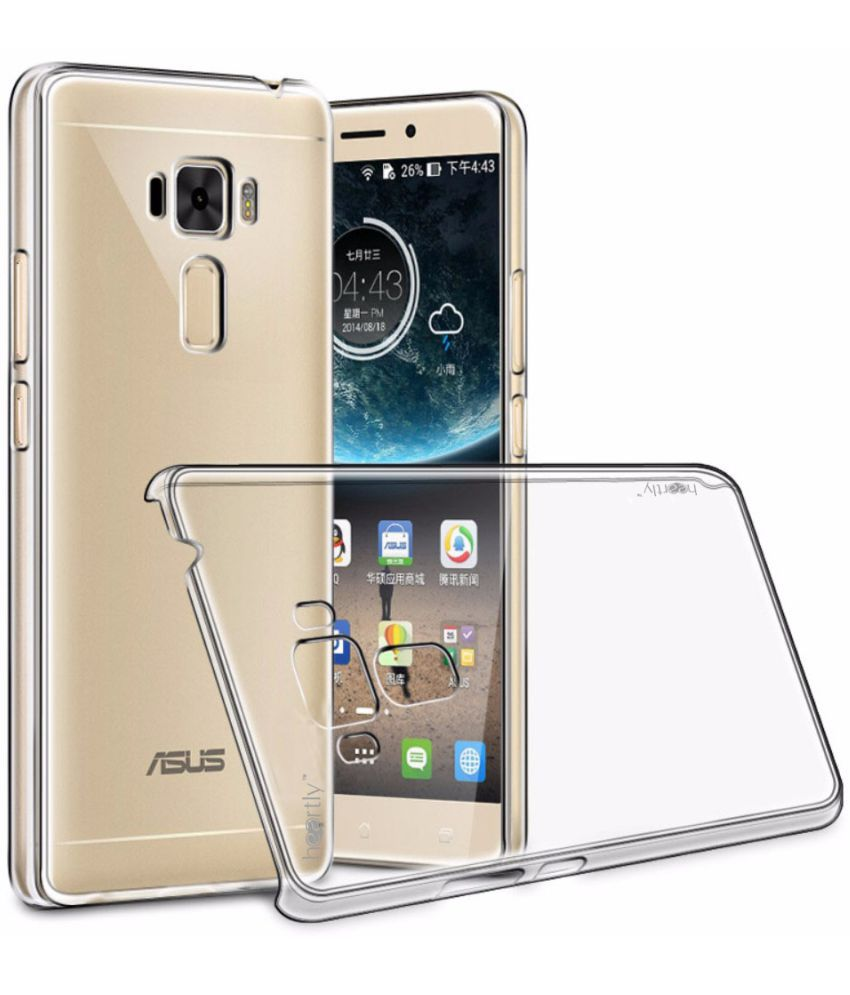 new concept 1ca79 b6c1c Asus Zenfone 3 Laser ZC551KL Cover by Heartly - Transparent