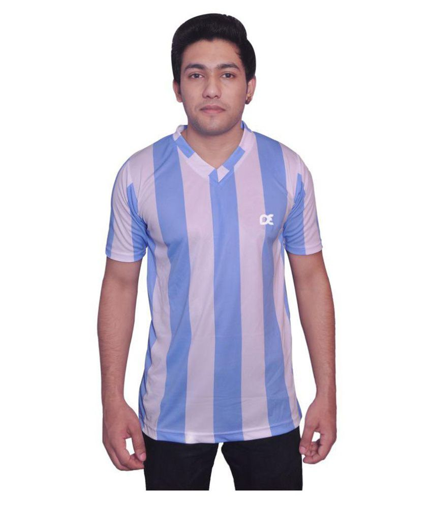 Dyed Colours Multi Polyester T-Shirt