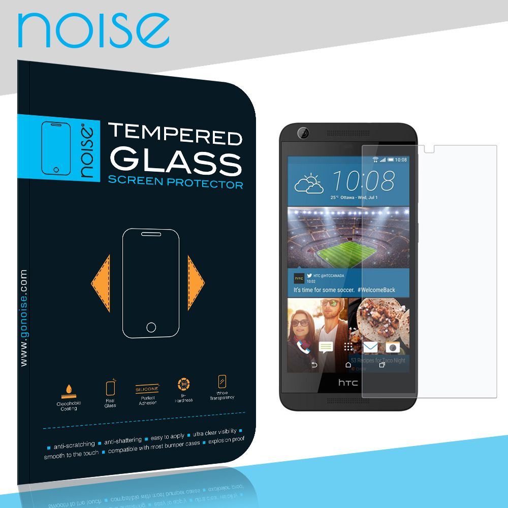 HTC Desire 626G Plus Tempered Glass Screen Guard By Noise