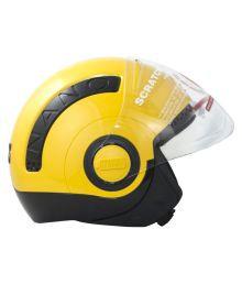 Studds Nano - Open Face Helmet Black M