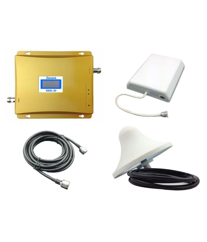 Lintratek KW20L-GD All Operator Mobile Signal Booster 3200 RJ11