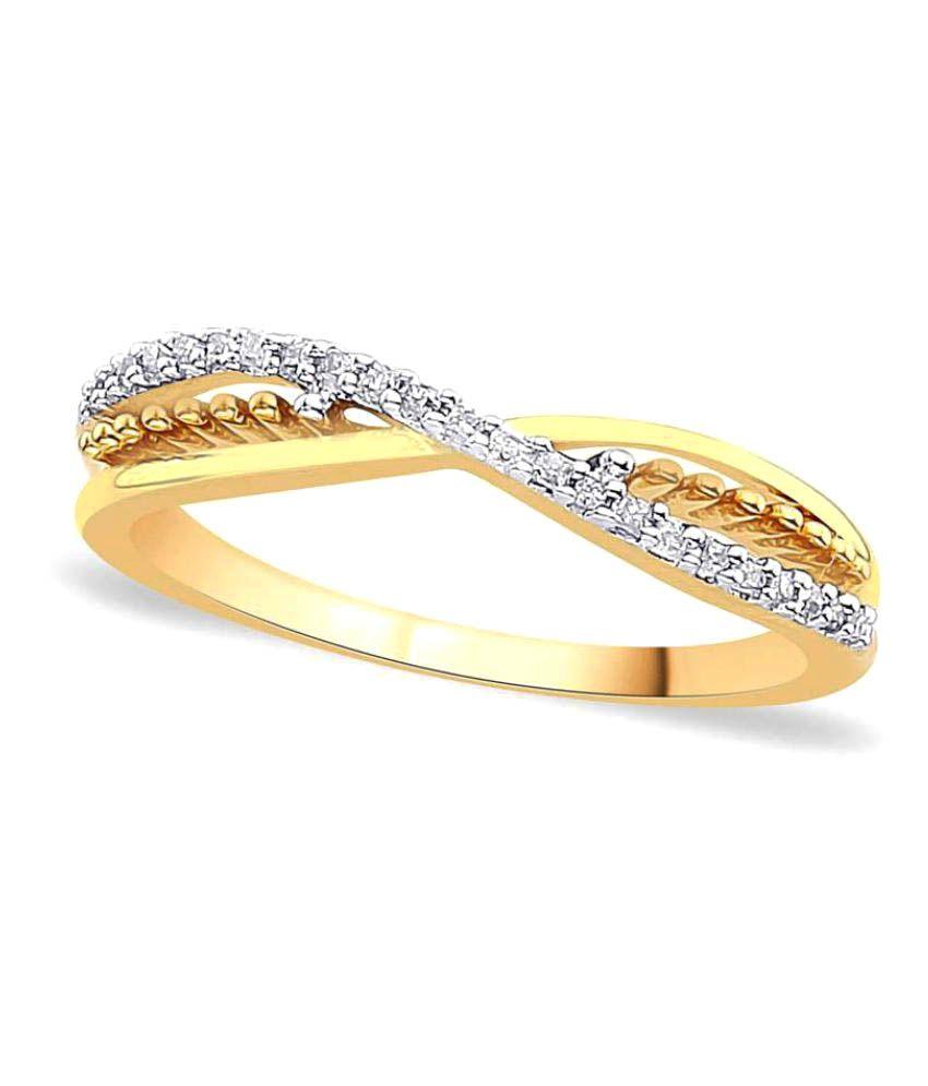 Maya Diamonds 18k Yellow Gold Diamond Ring