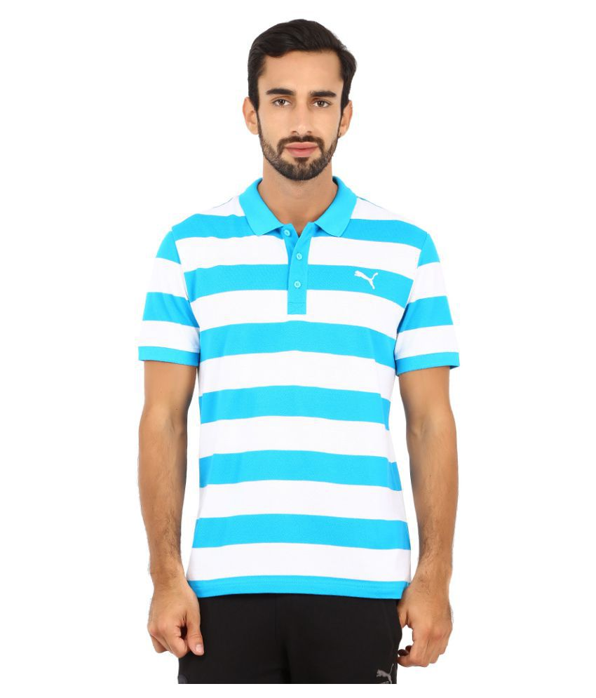 Puma Multi Polyester Polo T-Shirt