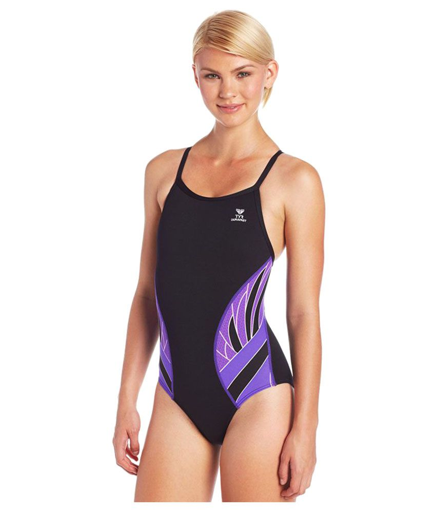 TYR Polyester Phoenix Splice Diamond Fit Swimsuit/ Swimming Costume