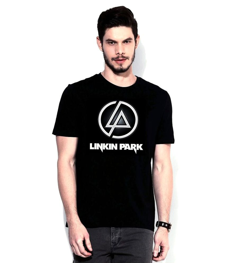 Folk Republic Black Round T-Shirt