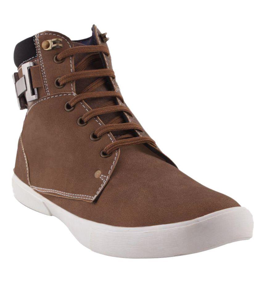 Stonewood Khaki Casual Boot