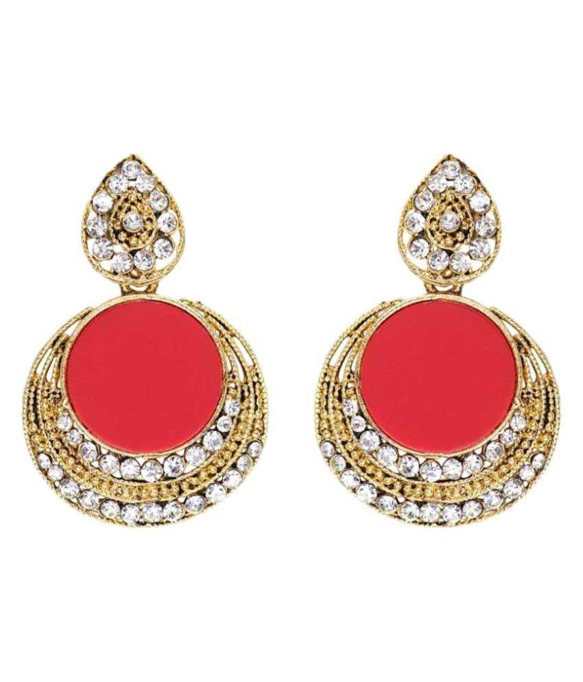 Jewels Gehna Multicolour Chandeliers Earrings