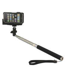 Gioiabazar Bluetooth Selfie Stick - Black