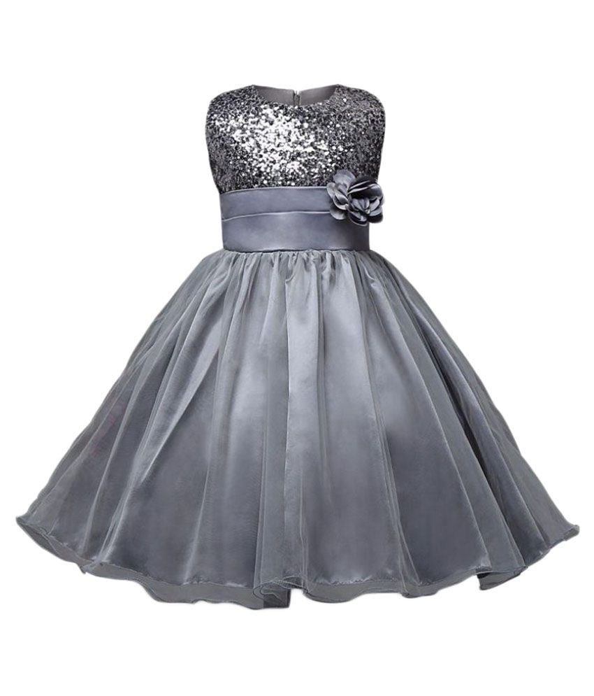 Sofyana Silver Ball Gown - Buy Sofyana Silver Ball Gown Online at ...