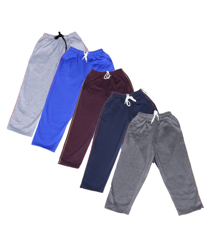 Indiweaves Premium Cotton Pyjamas - Pack of 5