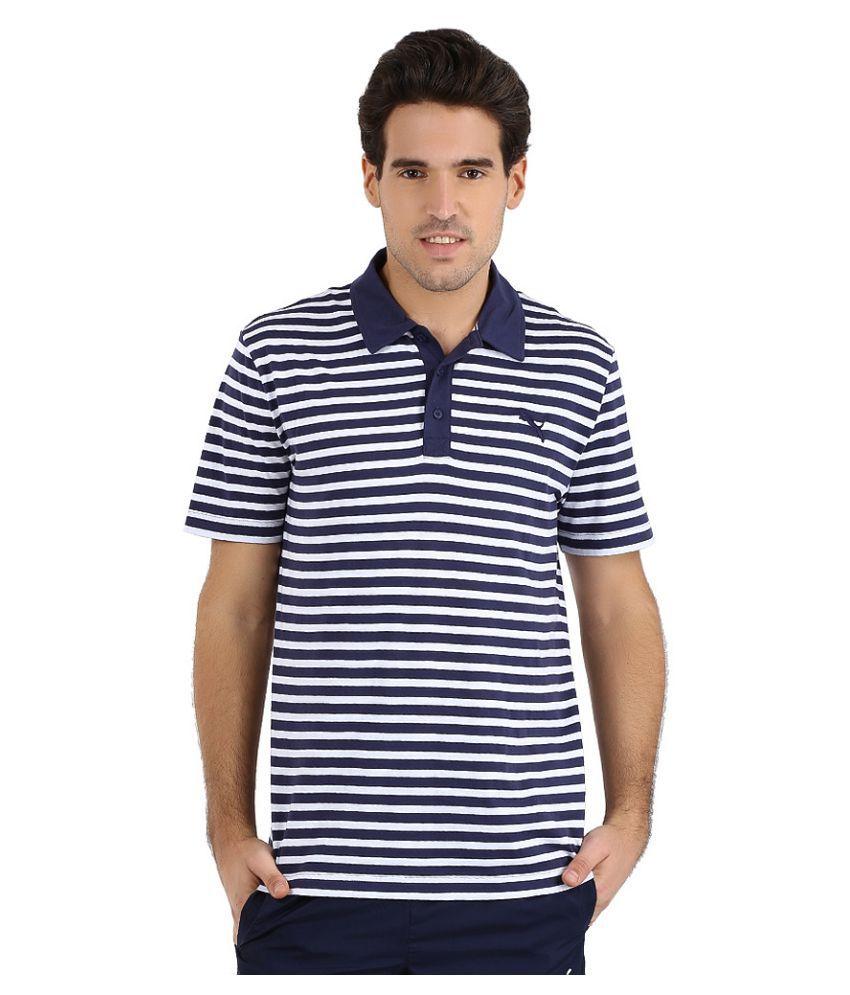 Puma Multi Polyester Polo T-Shirt