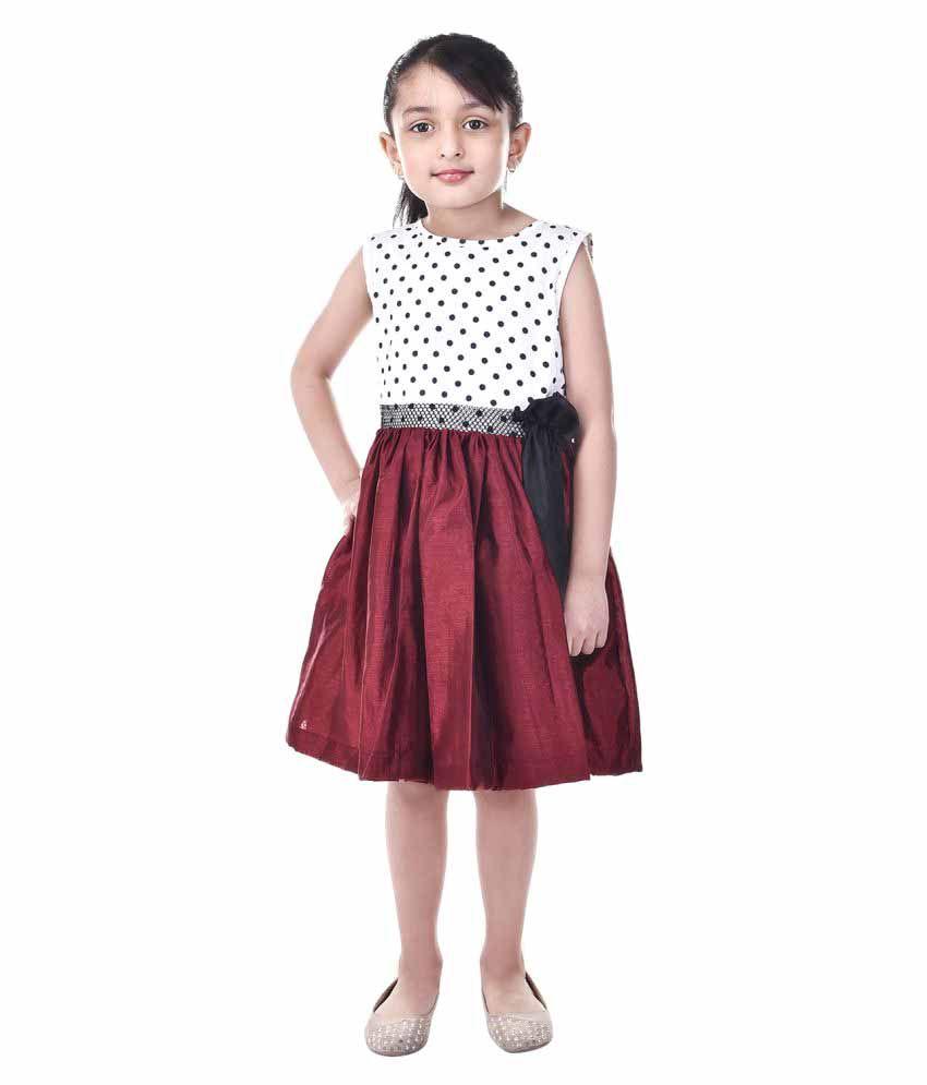 Goodwill Multicolour Silk Party Wear Shift Dress