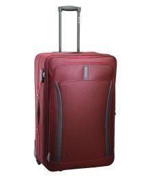 Safari Red S (below 60cm) Cabin Soft Curv 55 Purple Luggage