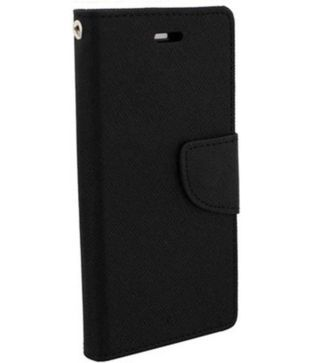 check out 24fc9 7374b Vivo Y21L Flip Cover by Trap - Black