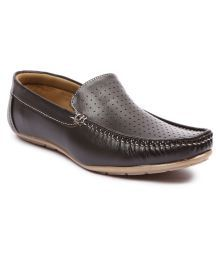 Andrew Scott Brown Loafers