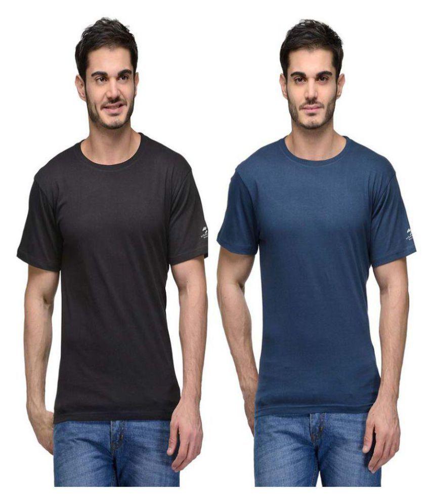 Hi Lifestyles Multi Round T-Shirt Pack of 2