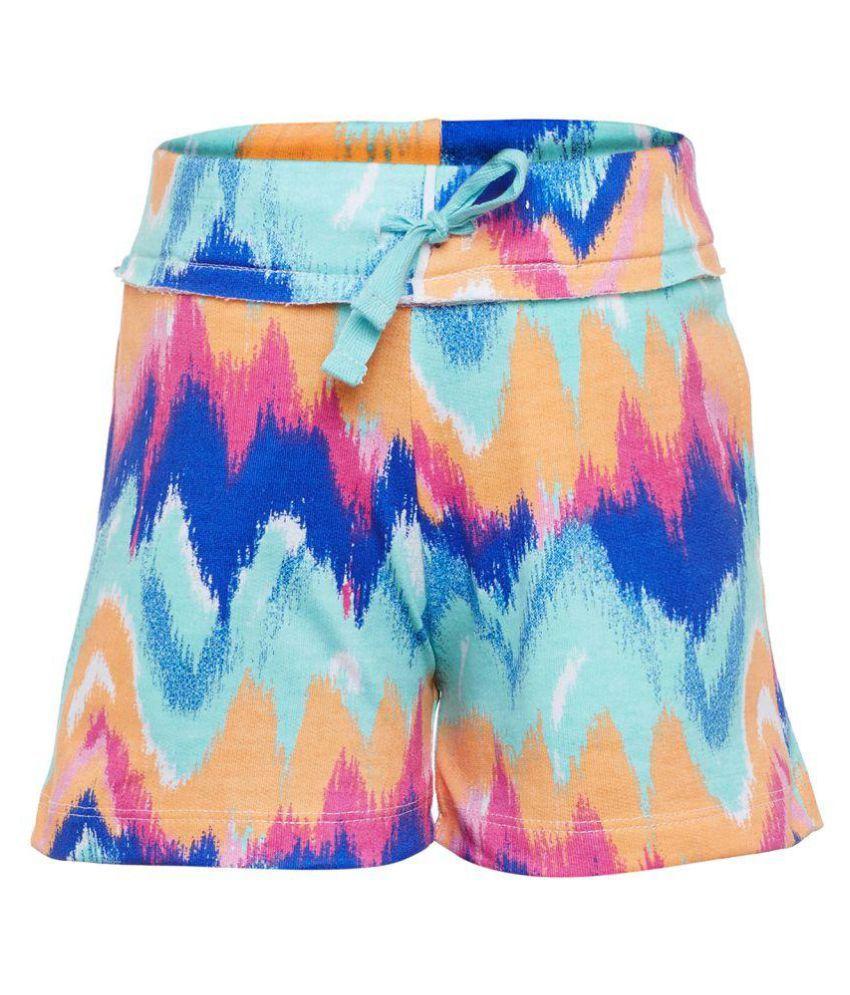 Sera Multicolor Girls Shorts