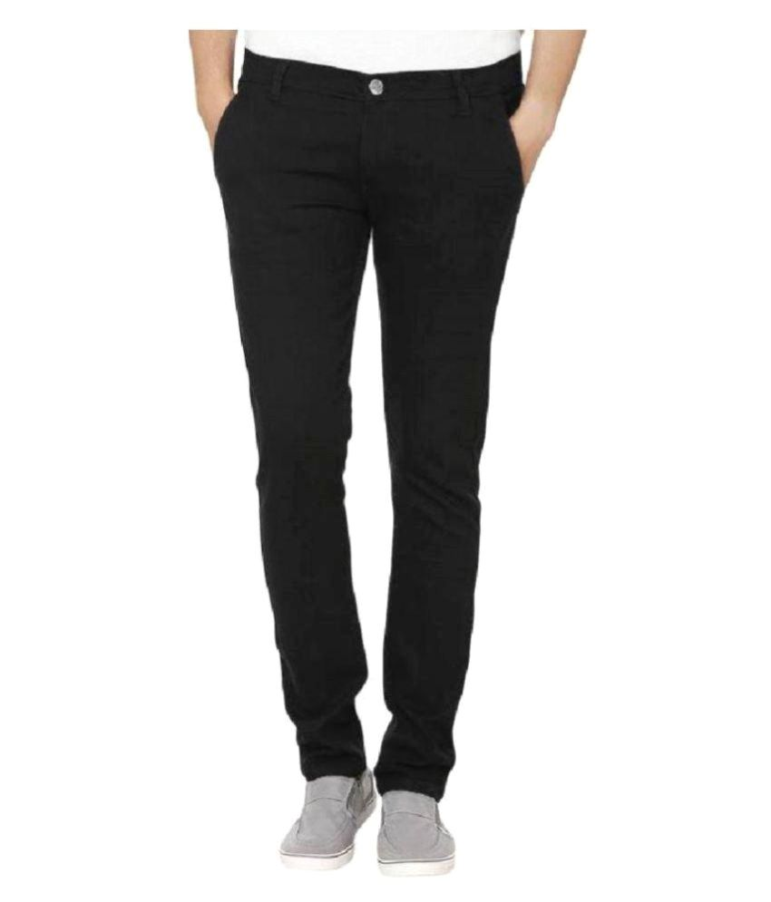 Ibs Black Straight Jeans