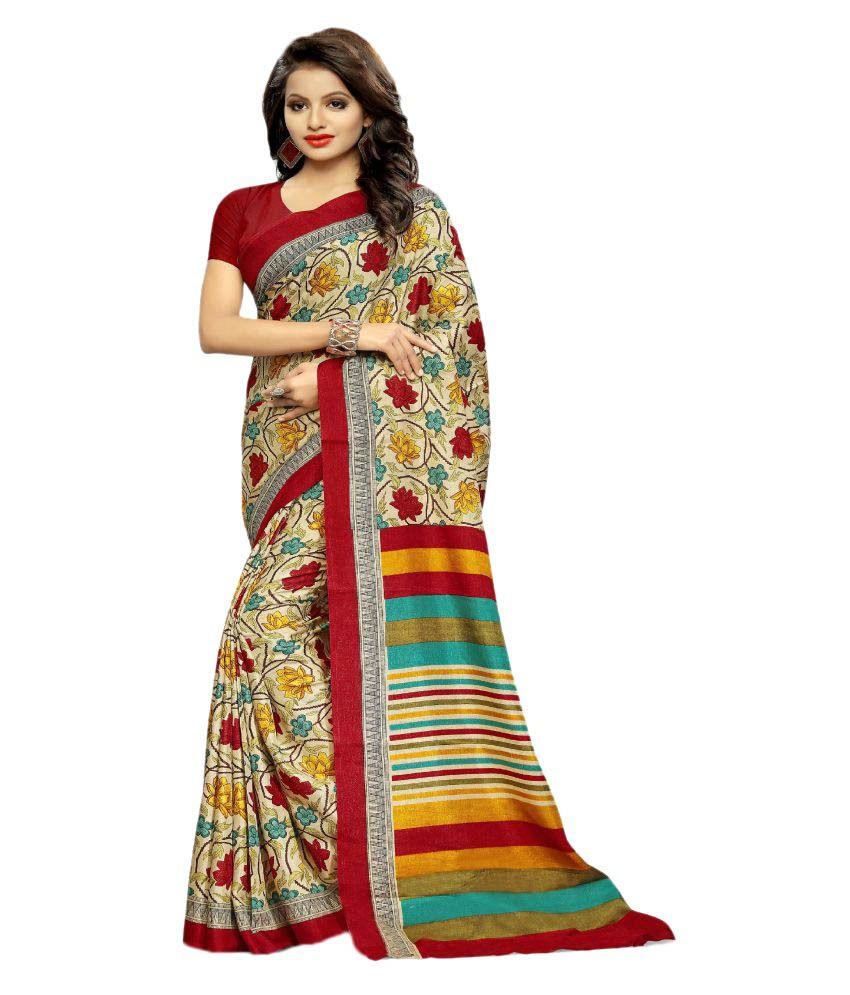 Design Willa Multicoloured Cotton Silk Saree