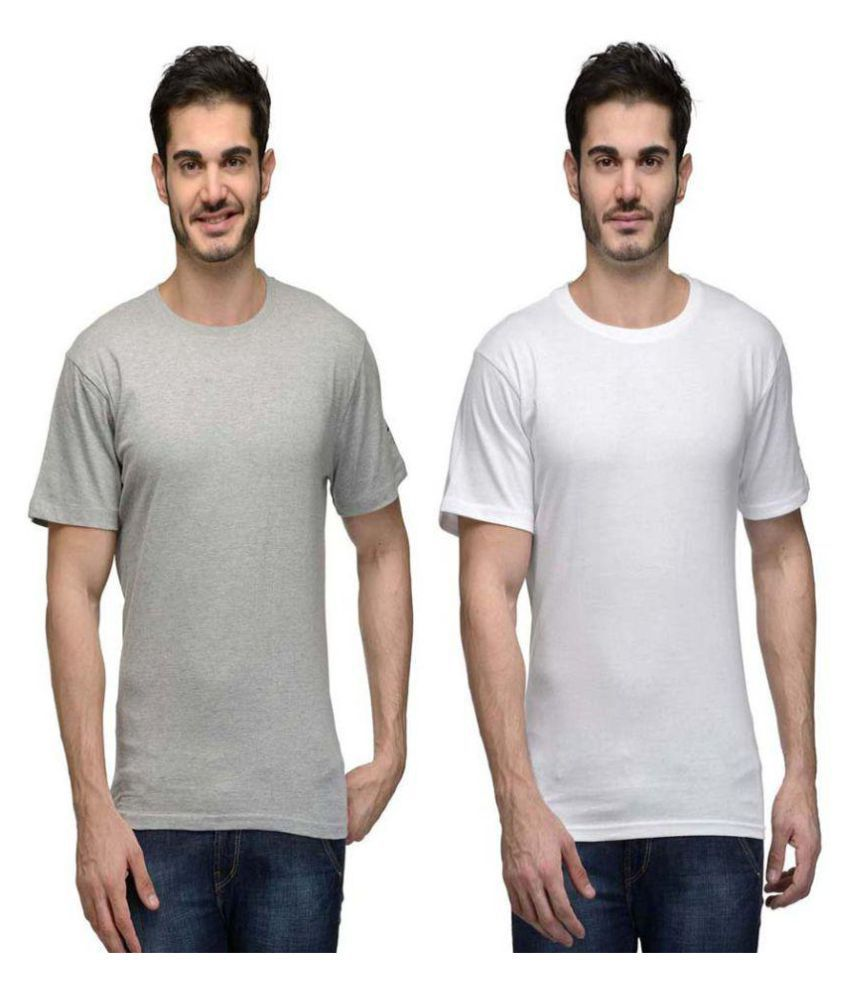 Hi Lifestyles Multi Round T-Shirt Pack of 2