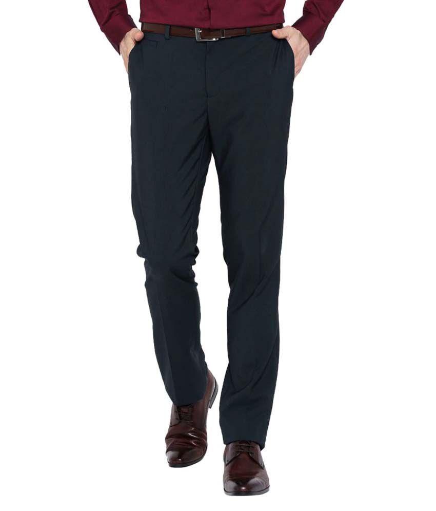 Blackberrys Grey Skinny Flat Trousers