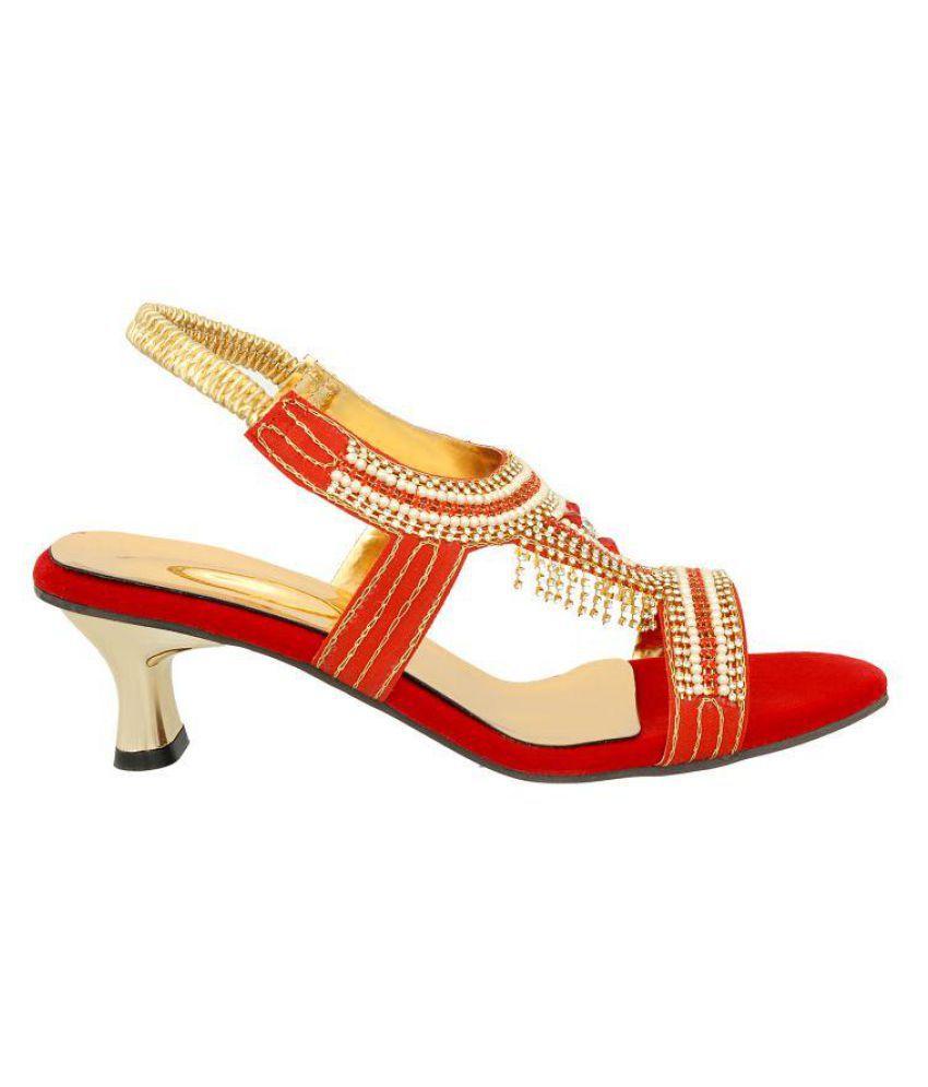 zionk Multi Color Block Heels