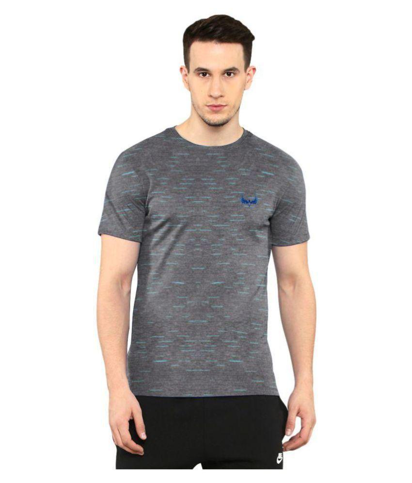 Avenster Grey Round T-Shirt