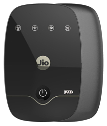 Reliance Jiofi 4G Black Data Card