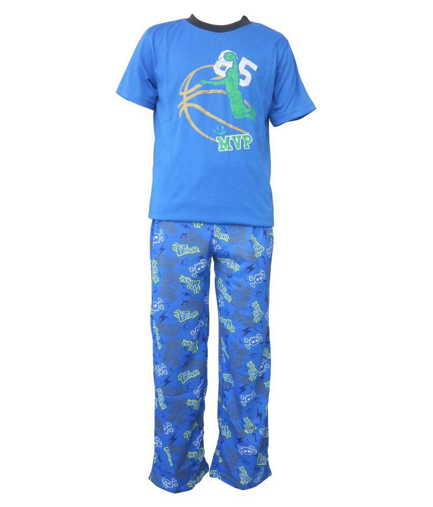 Jounior Boxer T-shirt & Pyjama Set