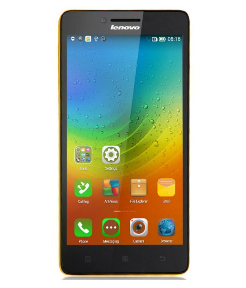 Lenovo K3 Note 16 GB Yellow available at SnapDeal for Rs.9990