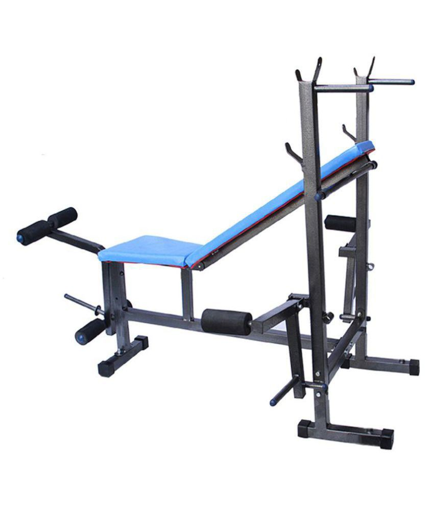 Fitfly 8 In 1 Multipurpose Bench For Home Gym: Buy Online