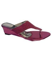 Queen Trends Pink Flat Flats